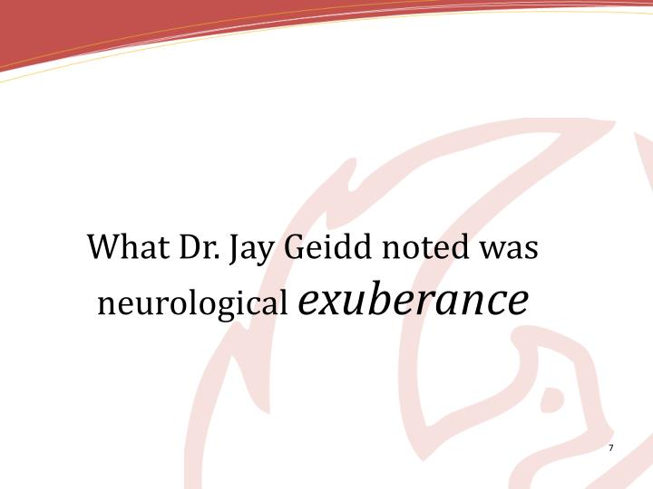 What Dr. Jay