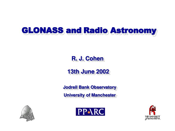 GLONASS and