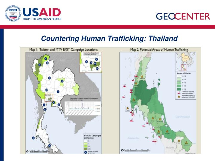 Countering Human Trafficking: Thailand