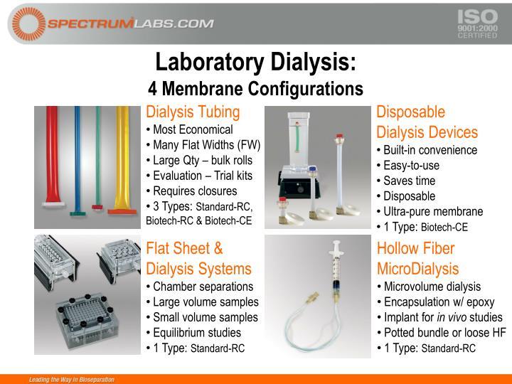 Laboratory Dialysis: