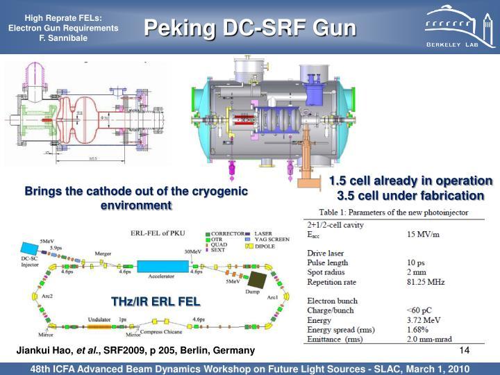 Peking DC-SRF Gun