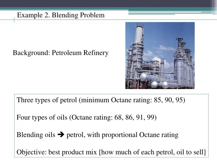 Background: Petroleum Refinery