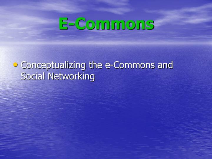 E-Commons