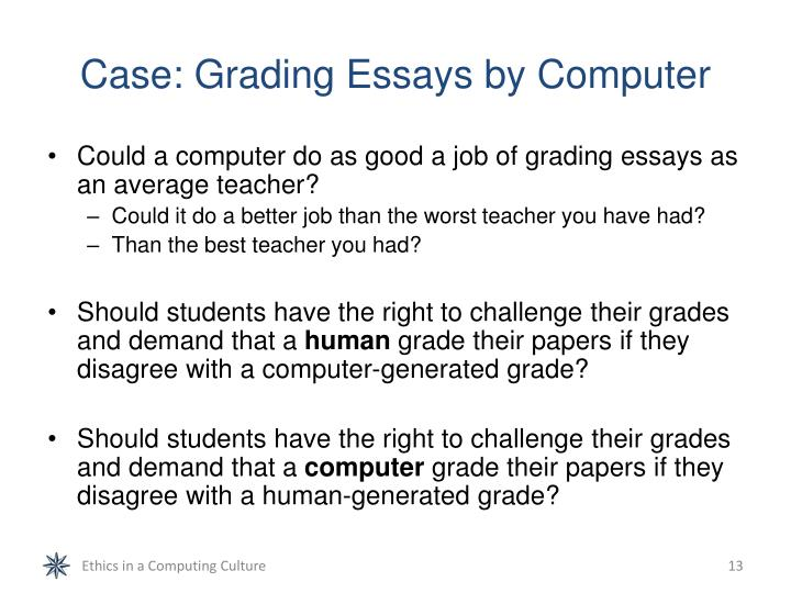 Case: Grading Essays by Computer