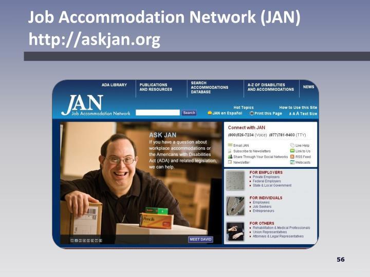 Job Accommodation Network (