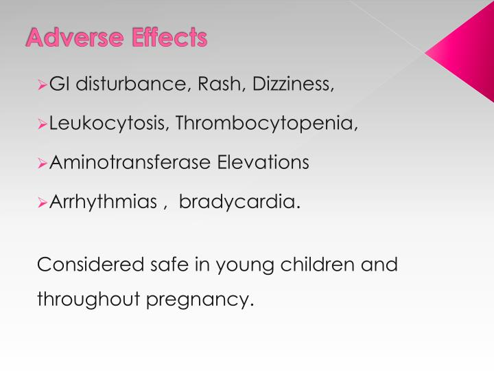Adverse Effects