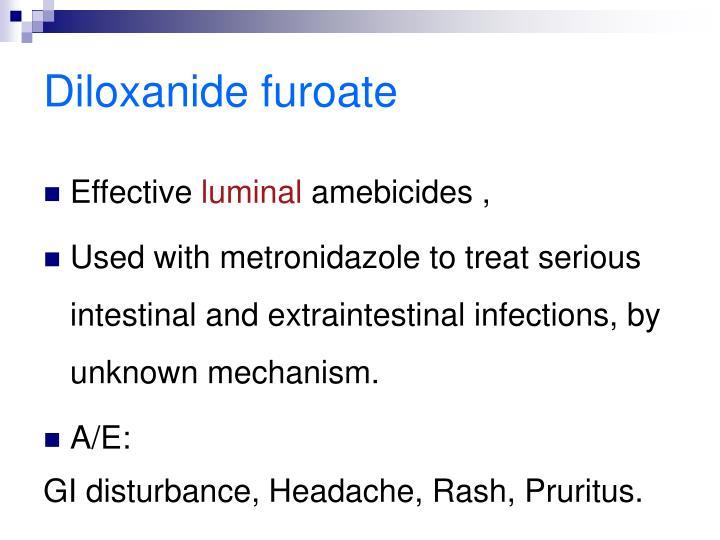 Diloxanide furoate