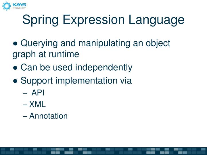 Spring Expression Language