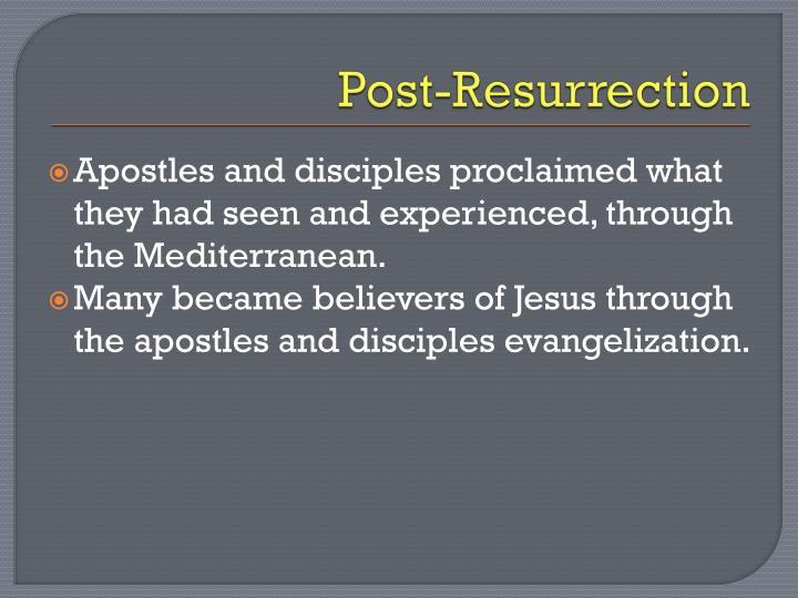 Post-Resurrection