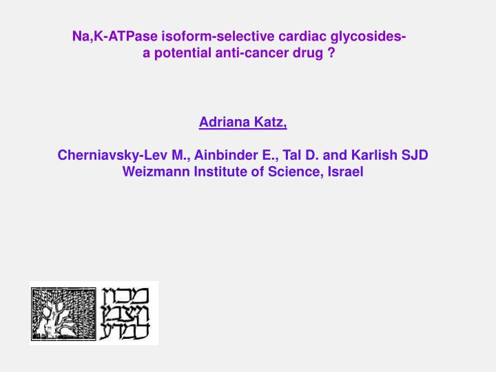 Na,K-ATPase isoform-selective cardiac glycosides