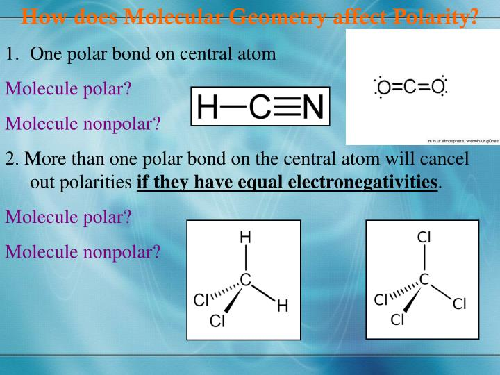 How does Molecular Geometry affect Polarity?