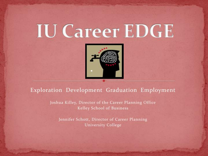 IU Career EDGE