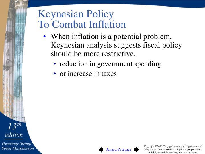Keynesian Policy