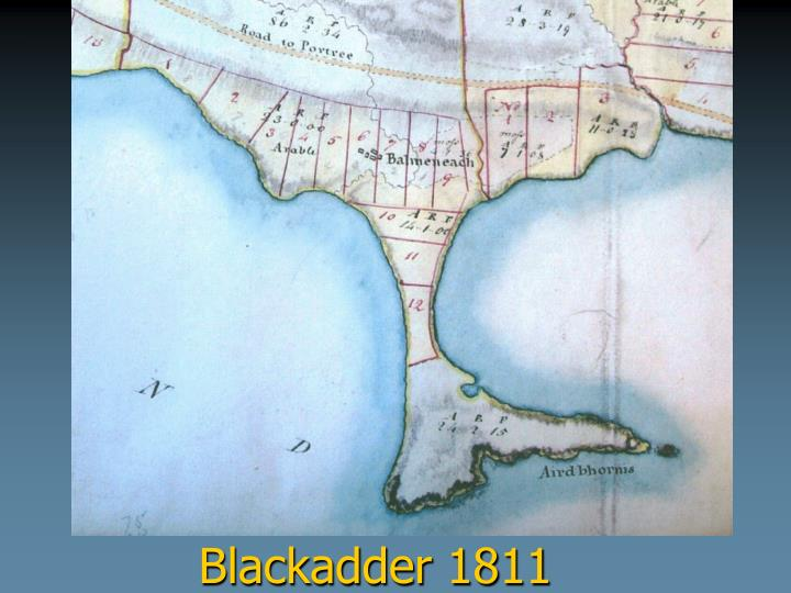 Blackadder 1811