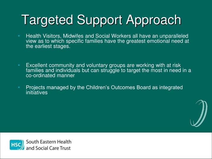 Targeted Support Approach