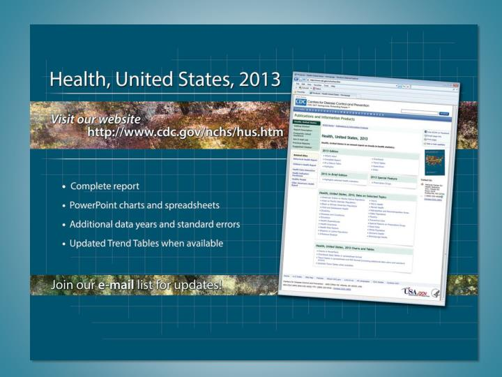 Health US 2013  Website