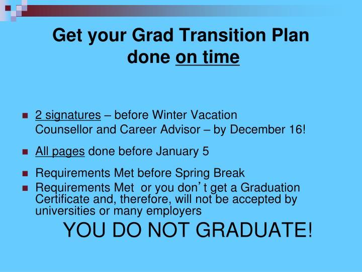 Get your Grad