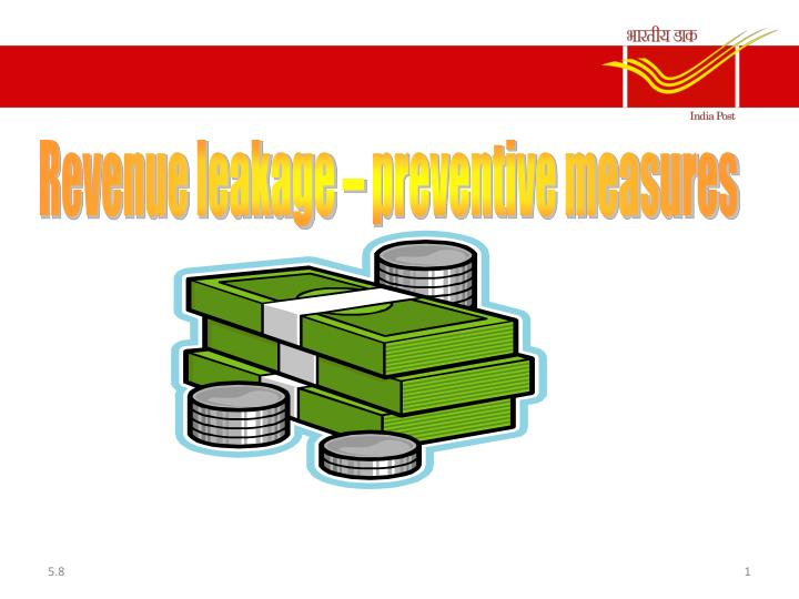 Revenue leakage – preventive measures