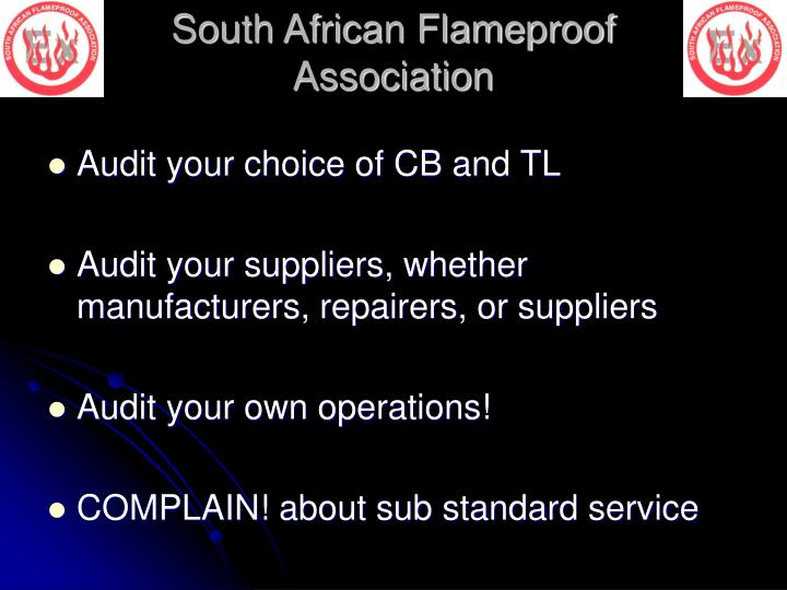 Audit your choice of CB and TL