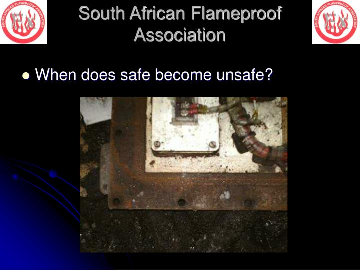 When does safe become unsafe?