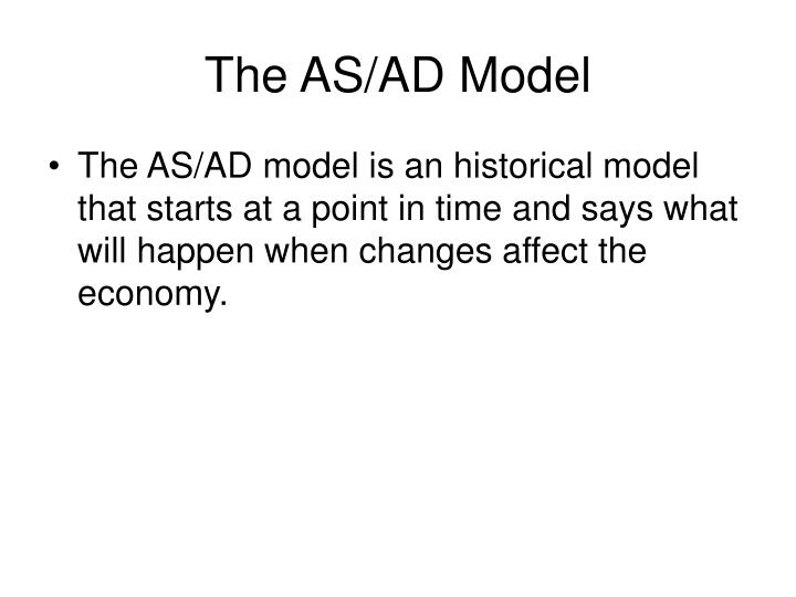 The AS/AD Model