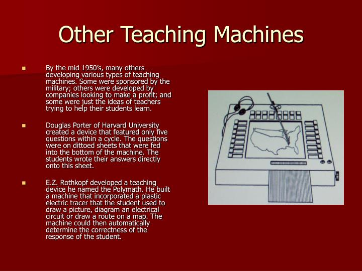 Other Teaching Machines