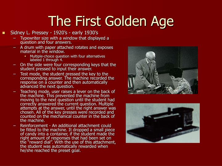 The First Golden Age