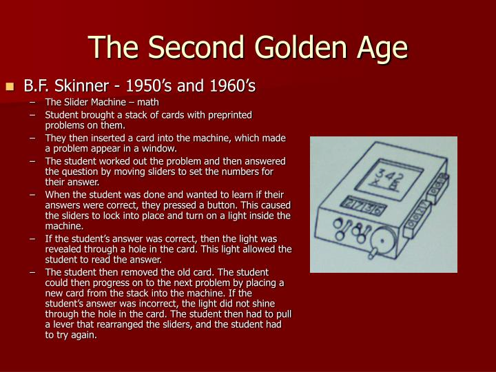 The Second Golden Age