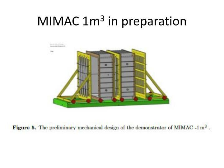 MIMAC 1m