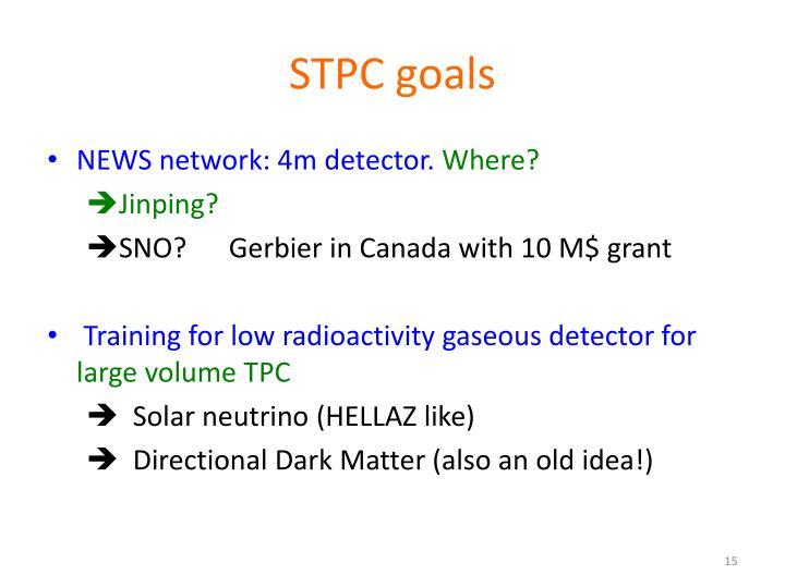 STPC goals