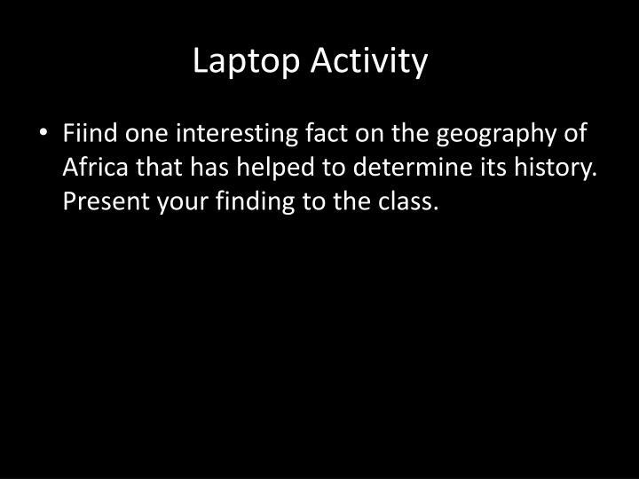 Laptop Activity