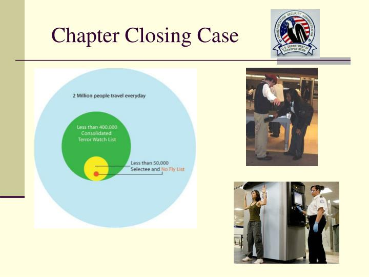 Chapter Closing Case