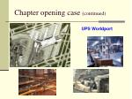 chapter opening case continued