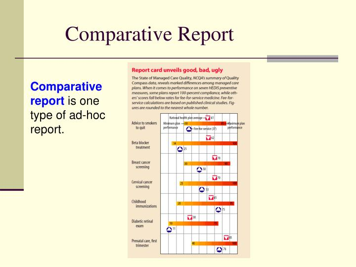 Comparative Report