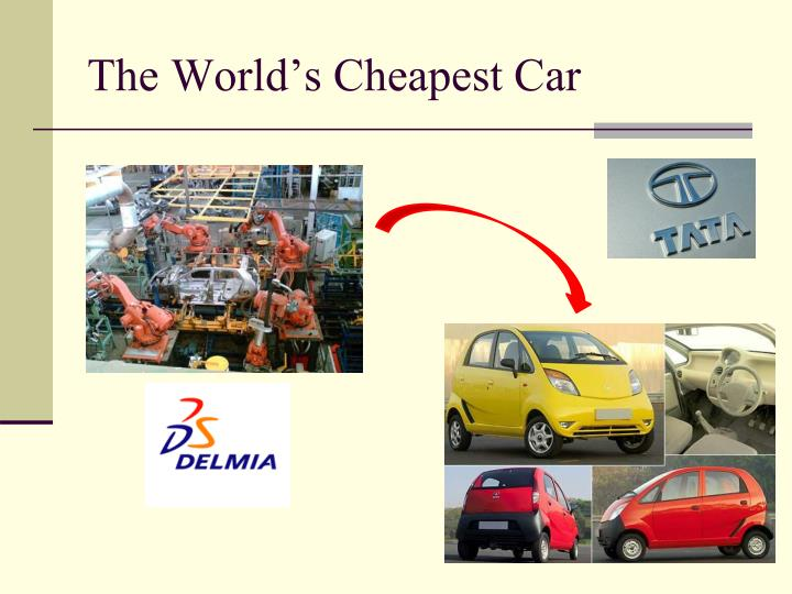 The World's Cheapest Car