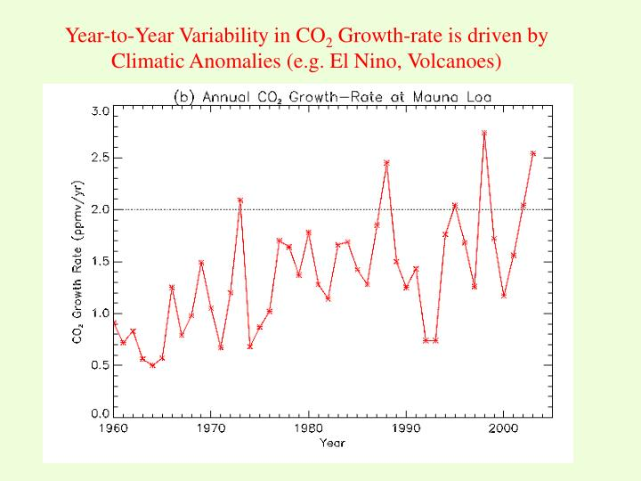 Year-to-Year Variability in CO