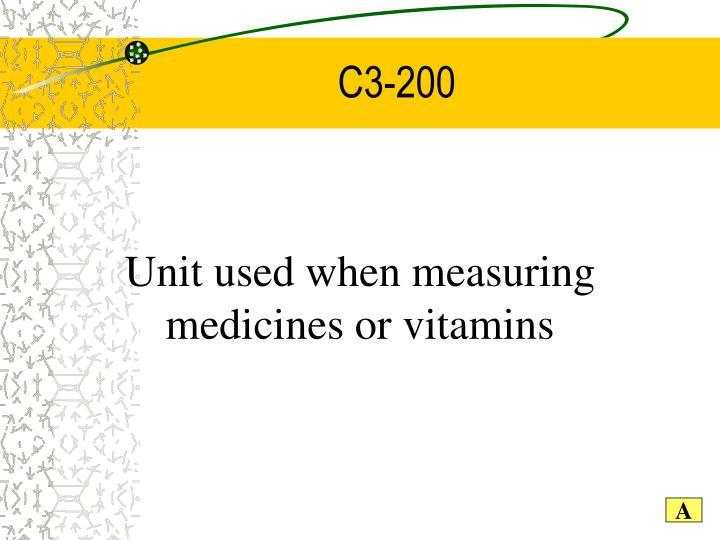 C3-200