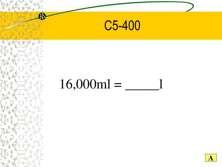 C5-400