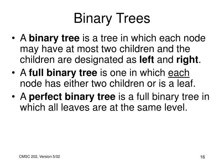 Binary Trees
