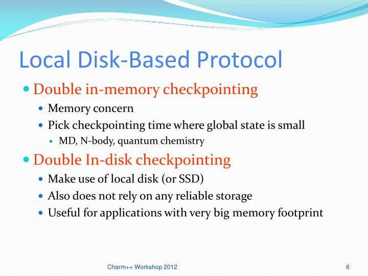 Local Disk-Based Protocol