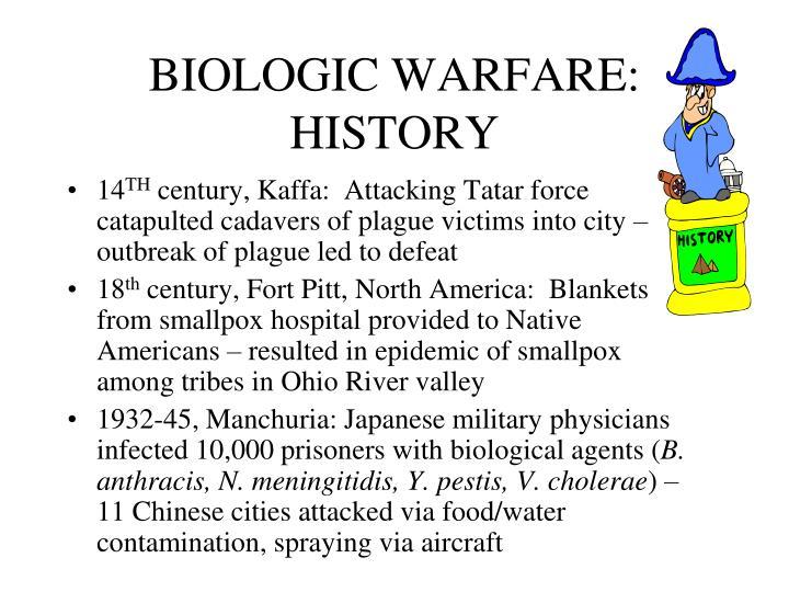 BIOLOGIC WARFARE: HISTORY
