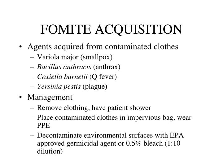 FOMITE ACQUISITION