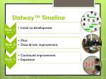 statway timeline