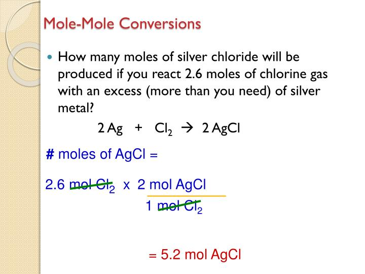 2 mol AgCl