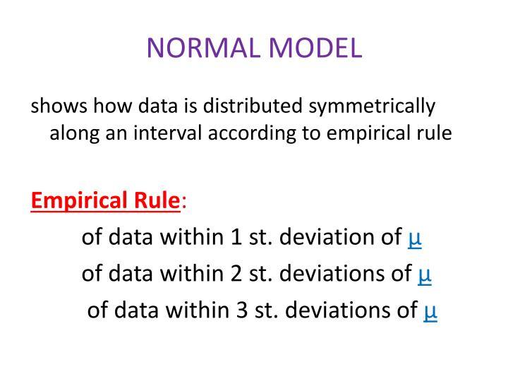 NORMAL MODEL