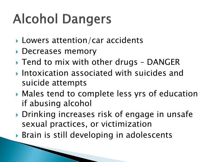 Alcohol Dangers