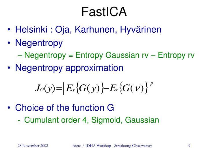 FastICA