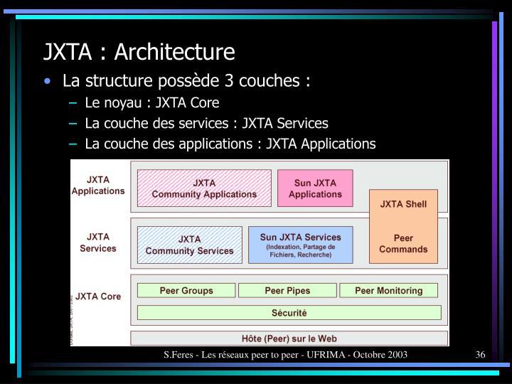 JXTA : Architecture