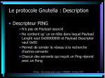 le protocole gnutella description2
