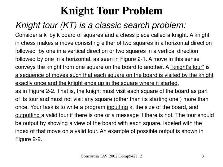Knight Tour Problem